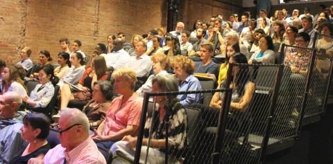 Photo of crowd at Progressive Mayor event