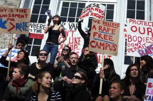 Campus rally against sexual assault