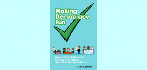 Book cover for Making Democracy Fun