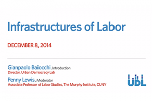 "Link to ""Infrastructures of Labor"" video"