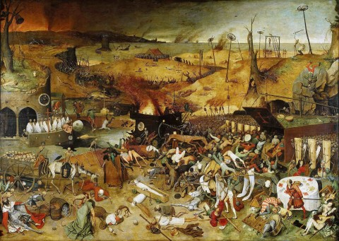 "Pieter Bruegel The Elder, ""The Triumph of Death"" (1562)"