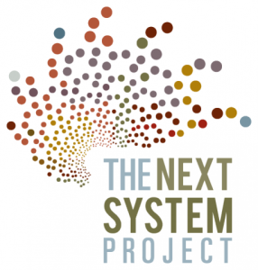 "Text post that says ""The Next System"""