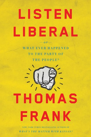 "Book cover for ""Listen Liberal"""