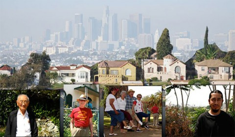 Images of people in Boyle Heights, LA, CA