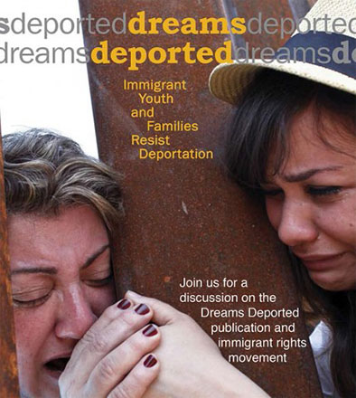 Poster from Dreams Deported publication