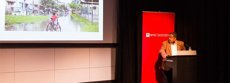 """Rreview of Balakrishnan Rajagopal's Oct. 3rd presentation at NYU, """"The Right to the City"""""""