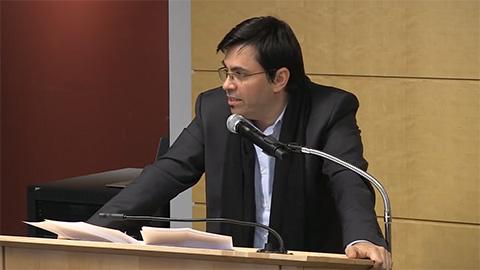 Gerardo Pisrello at podium