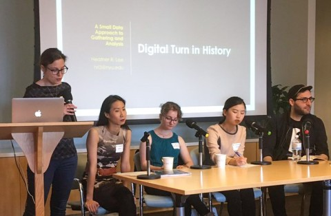 "Link to video for ""Humanizing Data: Data, Humanities, and the City"" event"