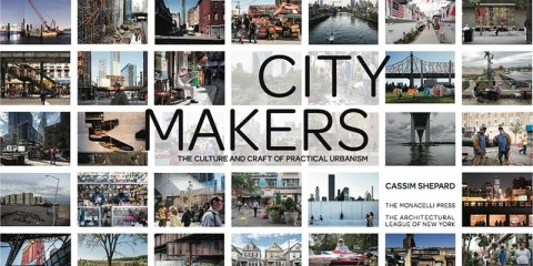 Book jacket for Citymakers book