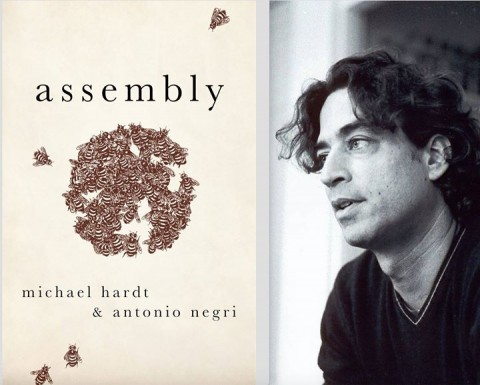 Book cover and Michael Hardt