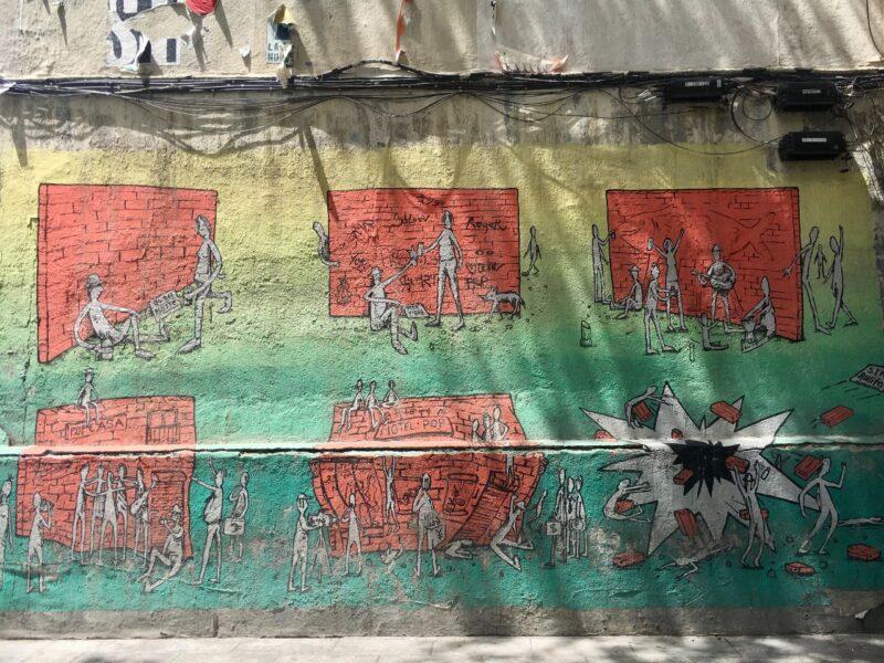 street art cartoon